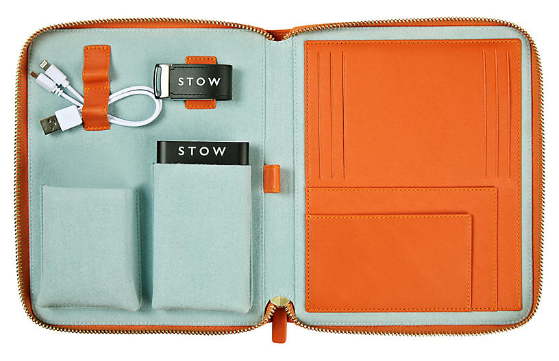 The First Class Tech Case, Orange