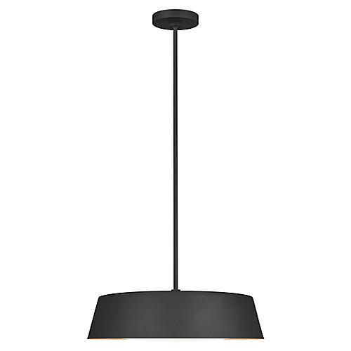 Asher 5-Light Pendant, Midnight Black