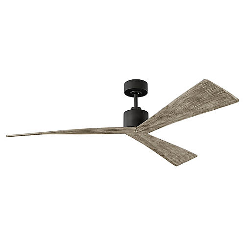 Adler Ceiling Fan, Weathered Oak