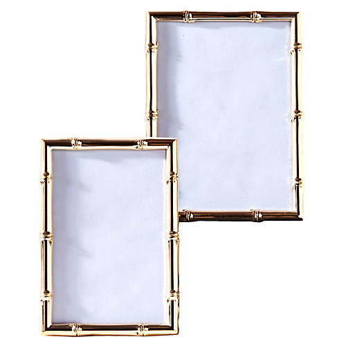 Asst. of 2 Sloane Picture Frames, Rose Gold