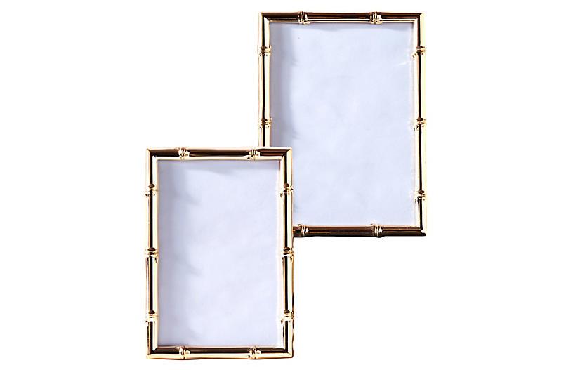 Asst. of 2 Sloane Picture Frames, Rose Gold