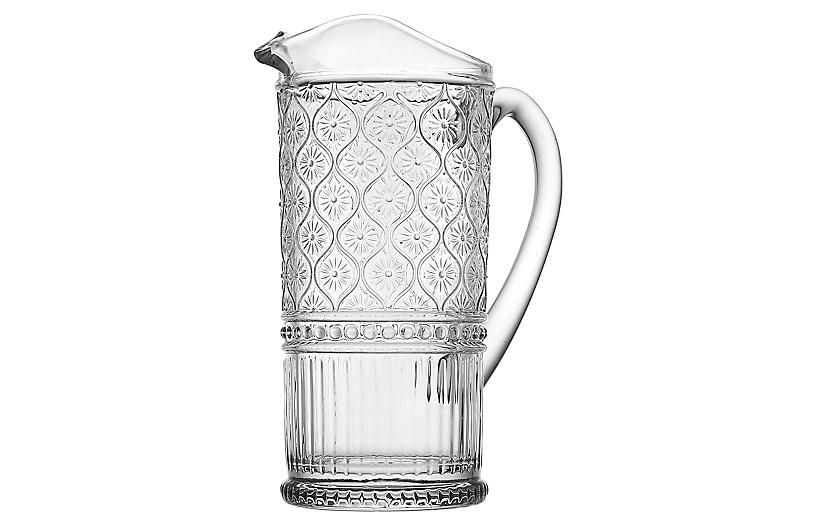 Claro Pitcher, Clear