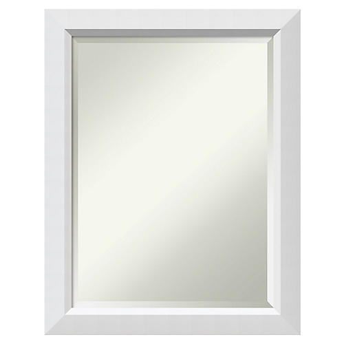 Blanco II Wall Mirror, White