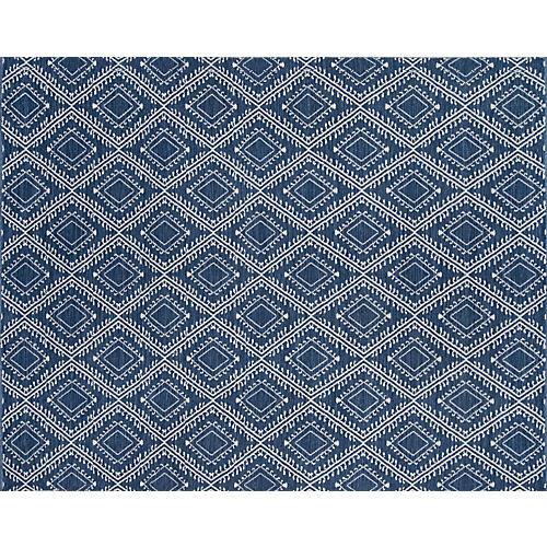 Pleasant Outdoor Rug, Navy