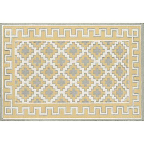 Brookline Rug, Gold