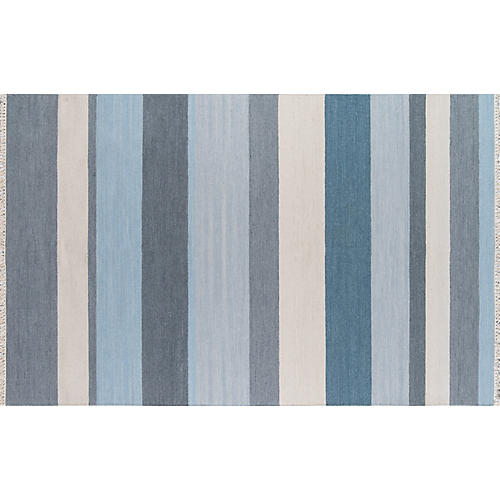 Thompson Brant Point Rug, Blue
