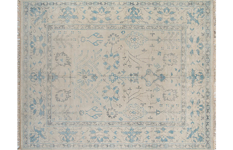 Concord Lowell Rug, Ivory