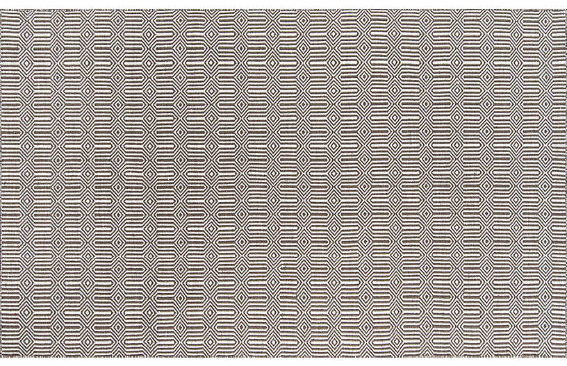 Newton Holden Outdoor Rug, Brown