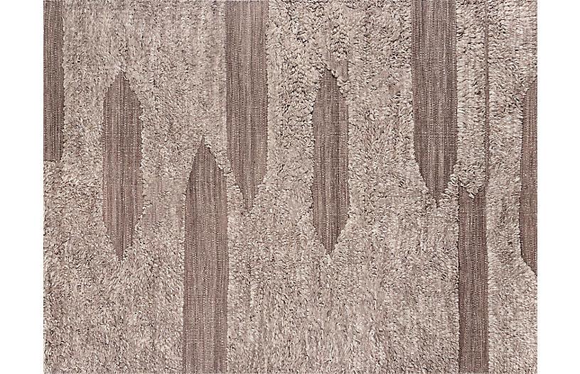 Rafalla Tumeni Handwoven Rug, Gray
