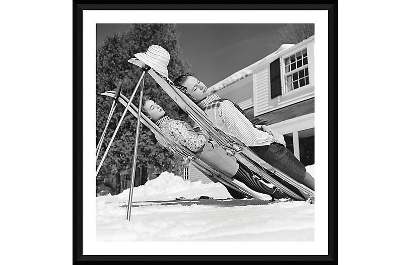 Slim Aarons, New England Skiing