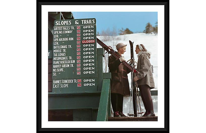 Slim Aarons, Slopes & Trails