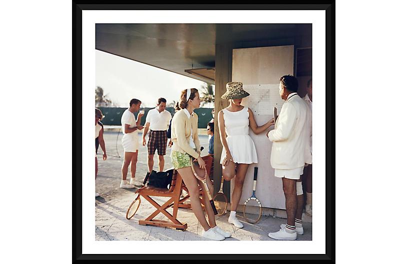 Slim Aarons, Tennis in the Bahamas