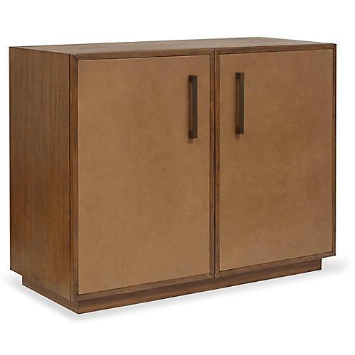 Hamilton Dresser, Caramel Leather