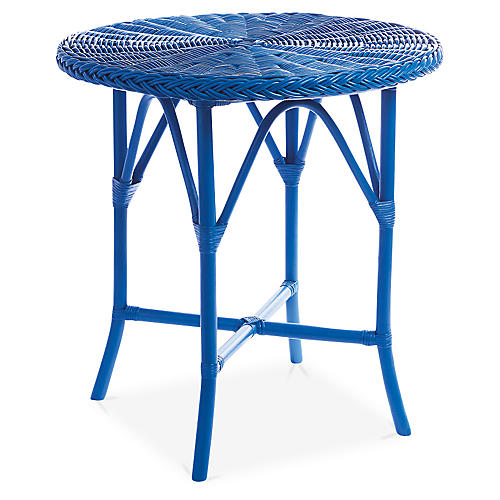 Normany Bistro Table, Blue
