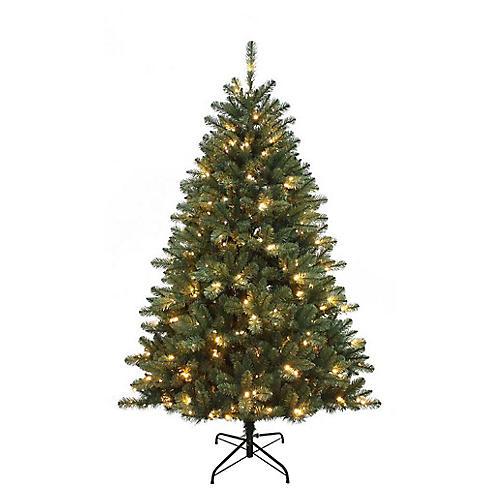 Northwood LED-Lit Pine Tree, Faux