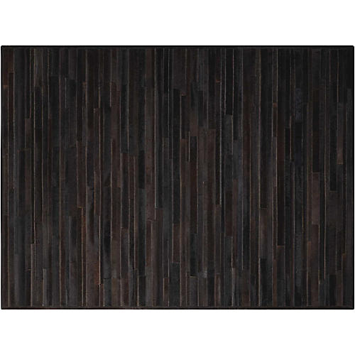 Prairie Hide Rug, Black