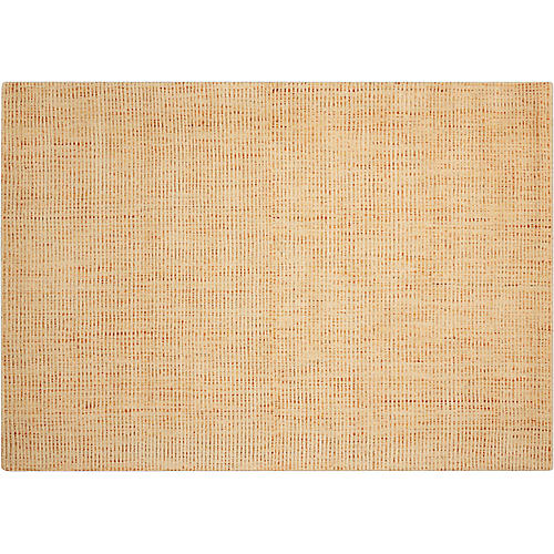 Intermix Solid Rug, Wheat