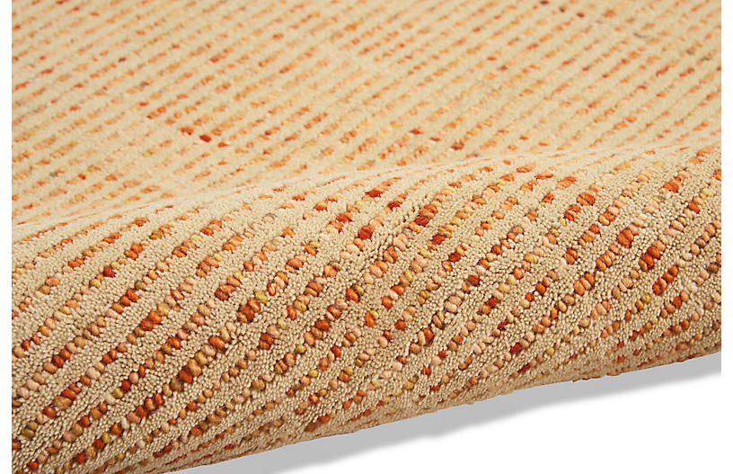 Intermix Solid Rug Wheat Barclay Butera Brands One