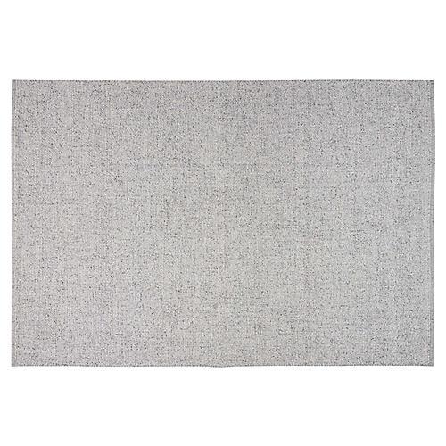 Tobiano Rug, Silver