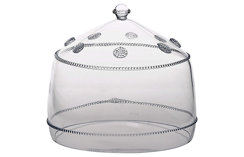 Isabella Cake Dome, Clear