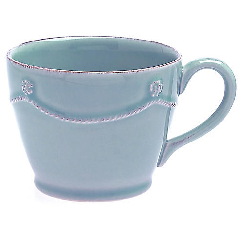 Berry & Thread Teacup, Ice Blue