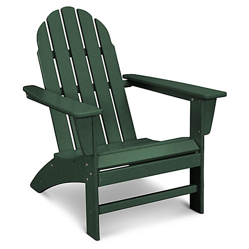 Vineyard Adirondack Chair, Green