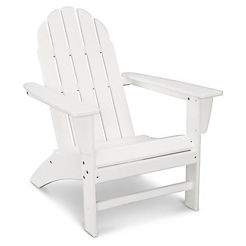 Vineyard Adirondack Chair, White