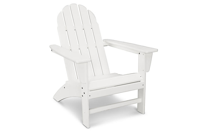 Vineyard Adirondack Chair, White