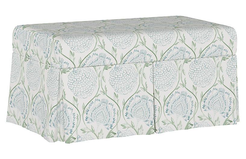 Hayworth Storage Bench Floral