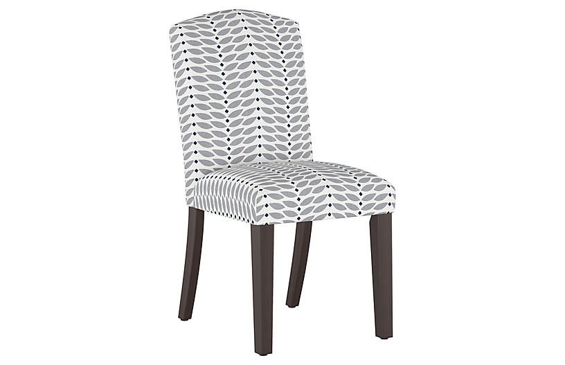 Marie Side Chair, Petal Gray