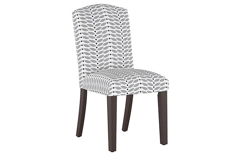 Marie Side Chair, Petal Gray