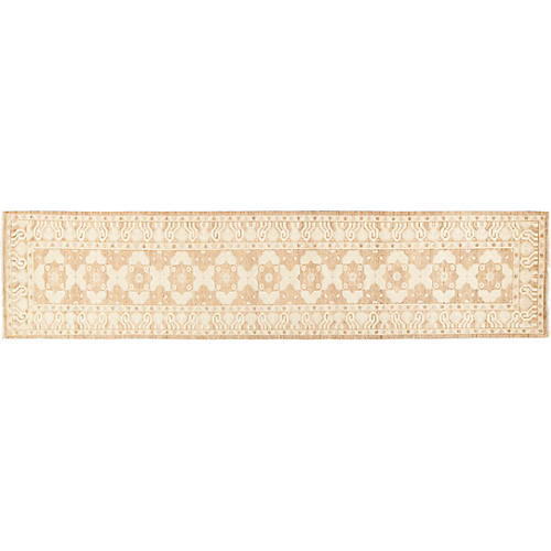 3'x13' Khotan Runner, Cream/Tan
