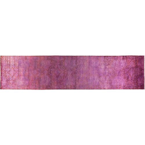 "4'1""x18'1"" Vibrance Runner, Purple"