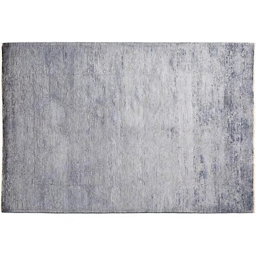 """4'4""""x6'3"""" Wren Vibrance Rug, Gray"""