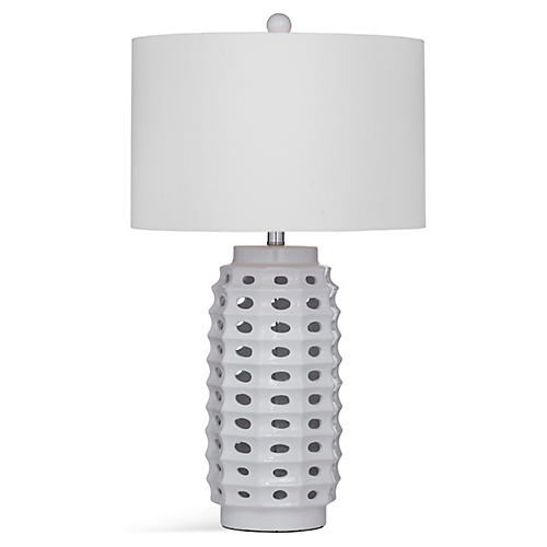 Arvada Table Lamp, White
