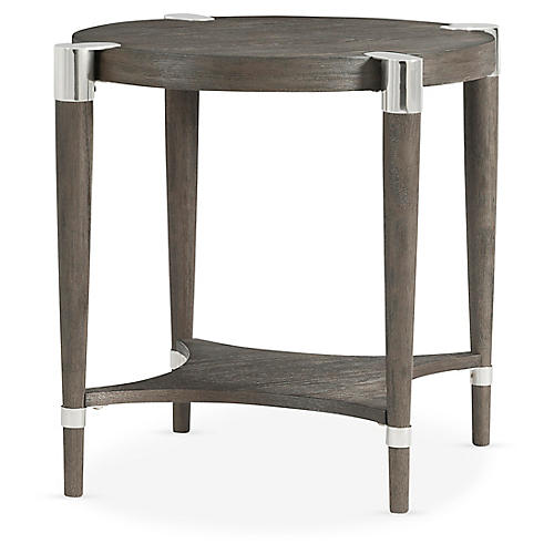 Duvall Oval Side Table, Coffee
