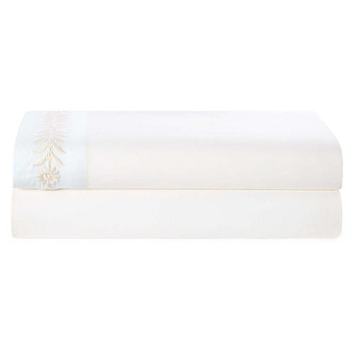 Lizeth Flat Sheet, Cream Sheet
