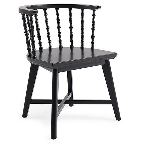 Wythe Windsor Chair, Black