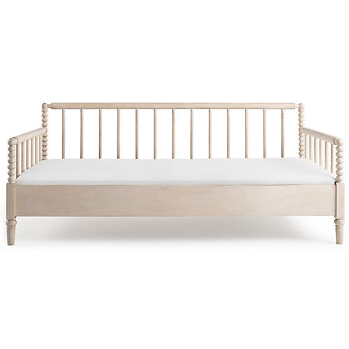 Whitby Spindle Daybed, Light Natural