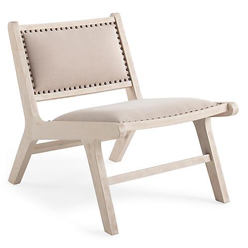 Dorsett Accent Chair, Natural