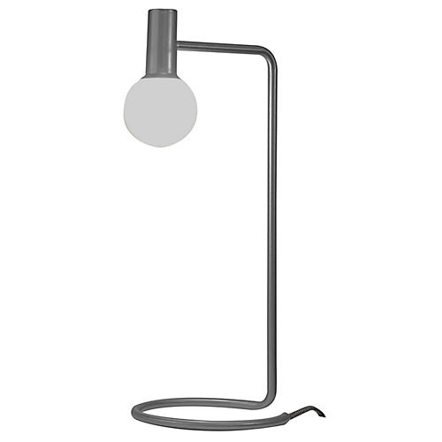 Ambient LED Desk Lamp, Gray