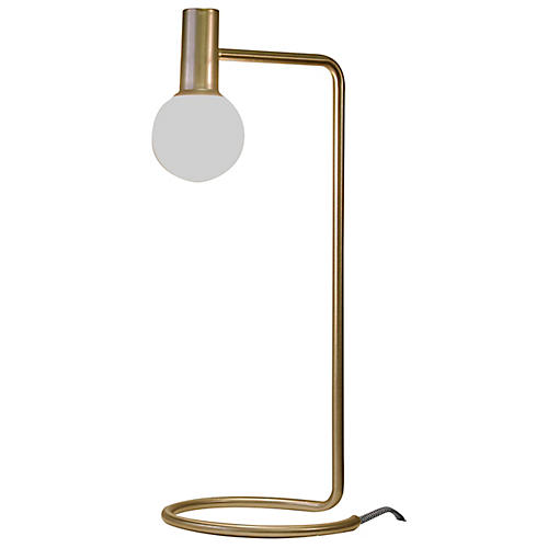 Ambient LED Desk Lamp, Gold