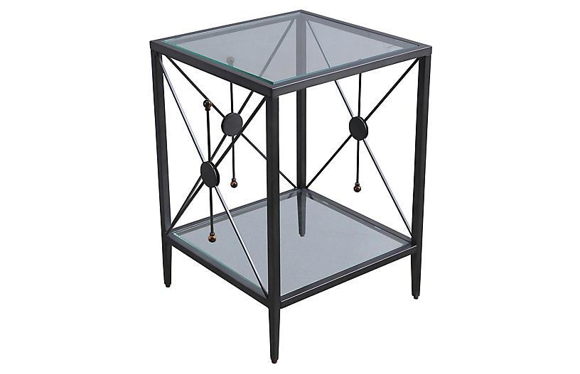 Beatrix Side Table, Black
