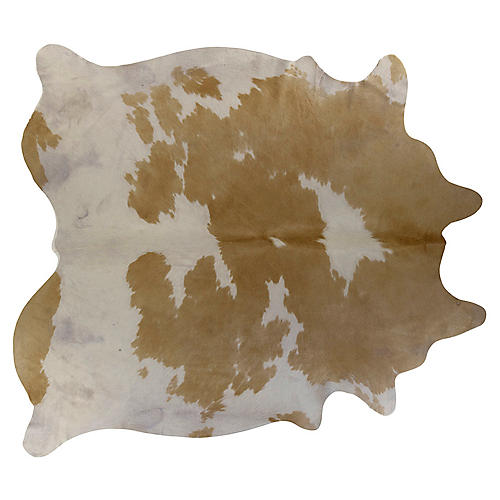 Natural Hide, Beige/White