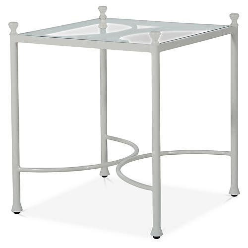Celia Side Table, Off-White