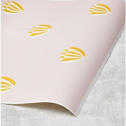 Clare V Lotus Wallpaper, Marigold