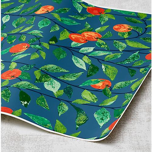 Nathan Turner Orange Crush Wallpaper, Cadet Blue