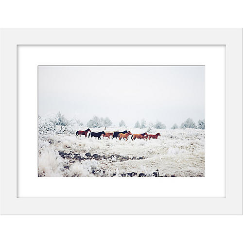Kevin Russ, Winter Horse Herd