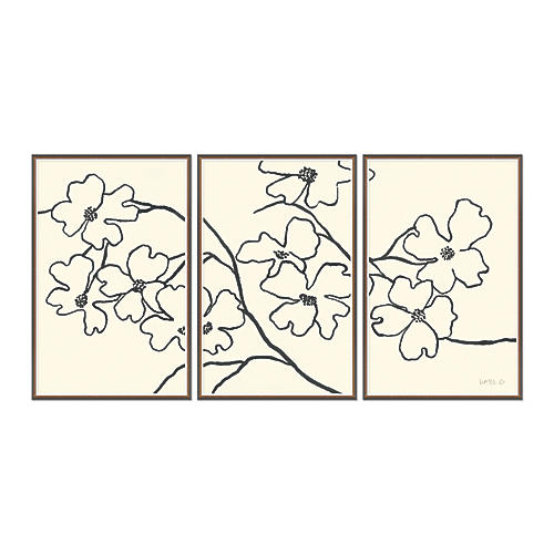 Susan Hable, Dogwood Triptych