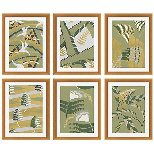 Gilded Pattern 1-6